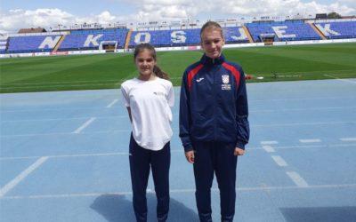 Sjajan rezultat mladih atletičarki u Osijeku