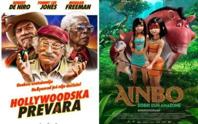 U kinu: Hollywoodska prevara i Ainbo: Dobri duh Amazone