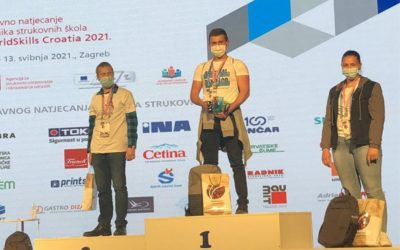 Strukovna dobila državnog prvaka, treće i šesto mjesto te priznanje za uspješnu organizaciju