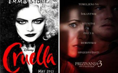 U kinu: Cruella i Prizivanja 3: Kriv je sotona