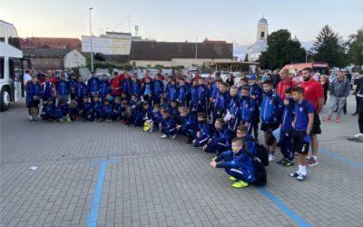 Mali đakovački nogometaši otputovali u Crikvenicu