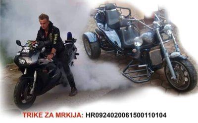 Moto klub Đakovo kupuje trike za Mrkija