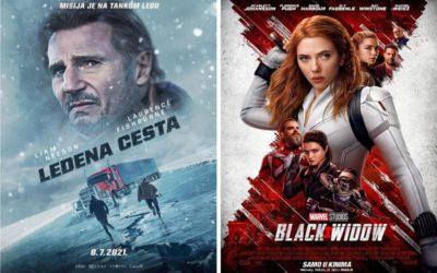 U kinu: Ledena cesta i Black Widow