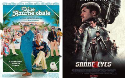 U kinu: Tajne Azurne obale i Snake Eyes