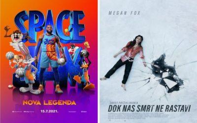 U kinu: Space Jam: Nova legenda i Dok nas smrt ne rastavi