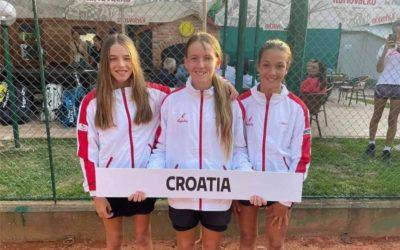Dora Belvanović debitirala za tenisku reprezentaciju!