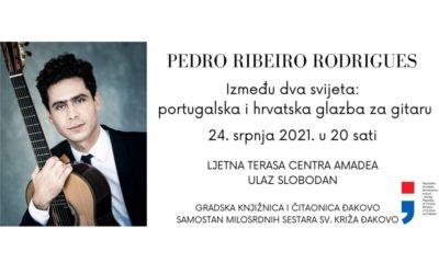 """Koncert """"Između dva svijeta: portugalska i hrvatska glazba za gitaru"""""""