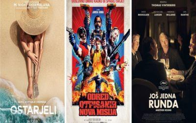 U kinu: Ostarjeli i Odred otpisanih: Nova misija; U Ljetnom kinu: Još jedna runda