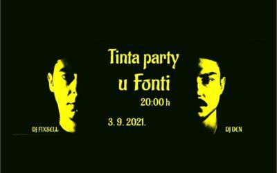 """Klub mladih pisaca """"Tinta"""" organizira party u """"Fonti"""""""