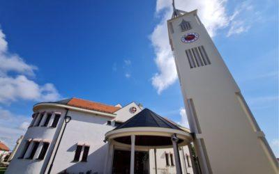 Završila obnova zvonika župne crkve Dobrog Pastira