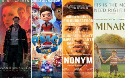 U kinu: Putovanje kroz sjećanja, Psići u ophodnji, Minari i Sinonimi