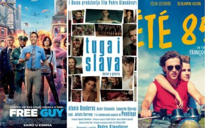 "U kinu: Free Guy, Tuga i slava i Ljeto ""85"