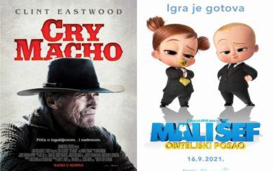 U kinu: Cry Macho i Mali šef: Obiteljski posao