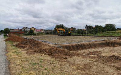 U tijeku su radovi na izgradnji igrališta u Dračicama