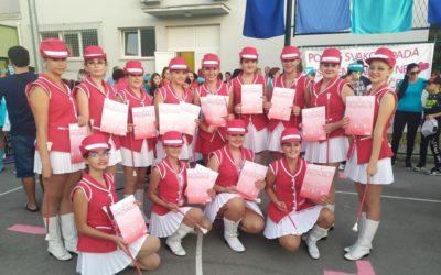 Sjajan nastup mažoretkinja KUD-a Sklad na Državnom prvenstvu u Glini