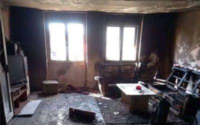 Podmetnut požar u obiteljskoj kući: Namještaj i stvari potpuno izgorjeli