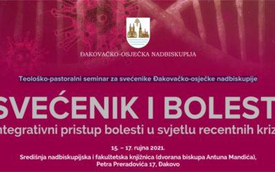 Ovaj tjedan održava se teološko-pastoralni seminar za svećenike Đakovačko-osječke nadbiskupije