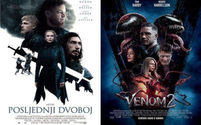 U kinu: Posljednji dvoboj i Venom 2