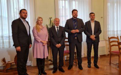 Veleposlanik Republike Sjeverne Makedonije Milaim Fetai posjetio Đakovo